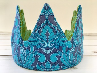 reversible fabric crown