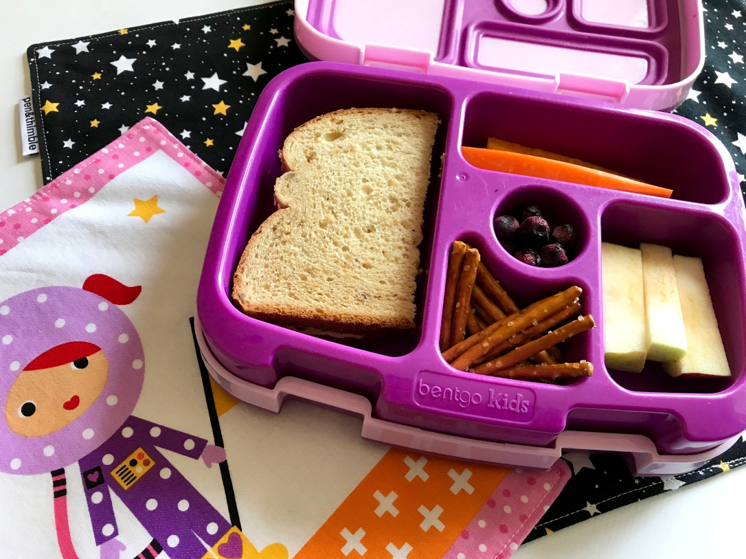 I packed the same lunch for my kindergartener for a week. And I dare you to do the same!