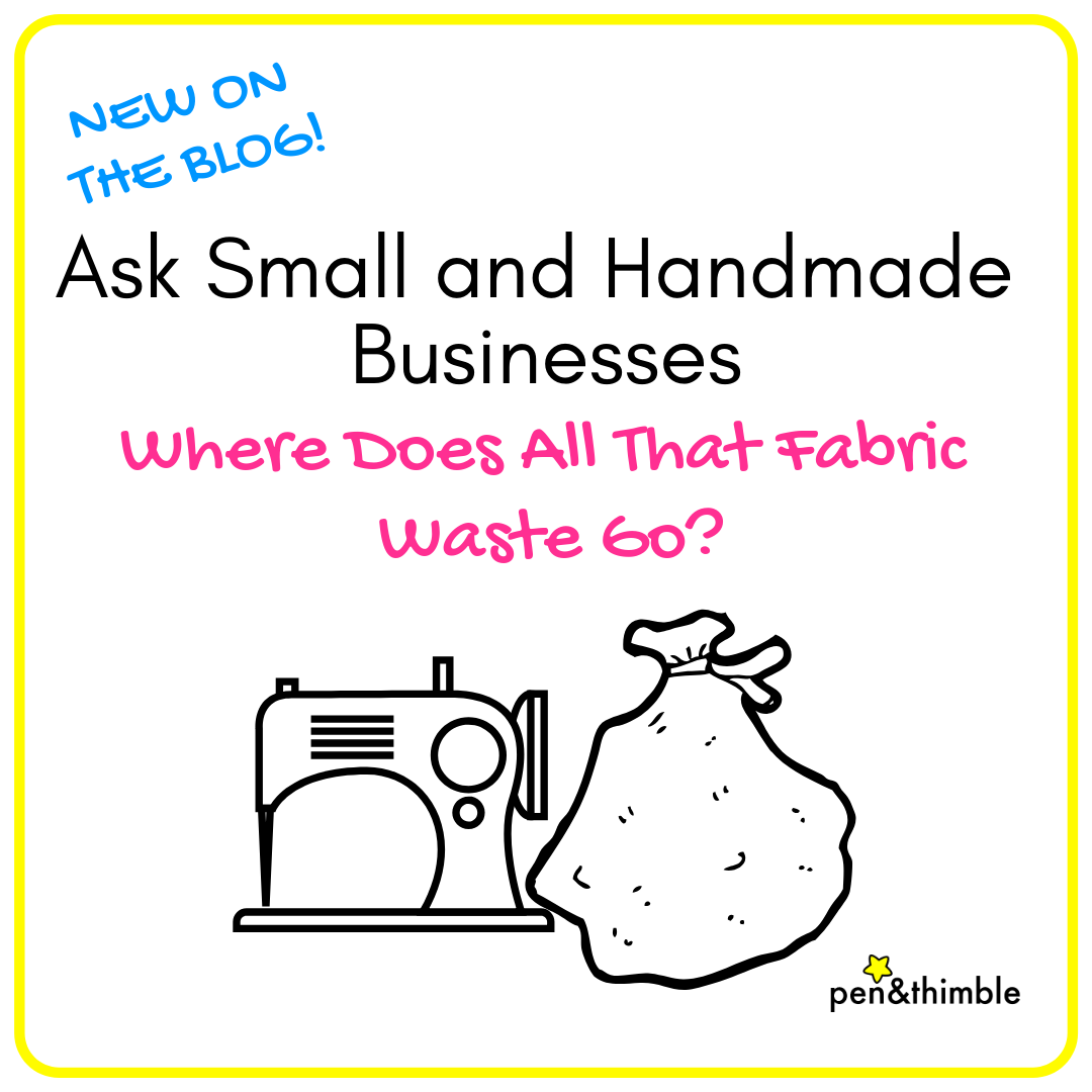 Ask Small and Handmade Businesses: Where Does All That